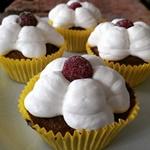 Mandelkage / Cupcake