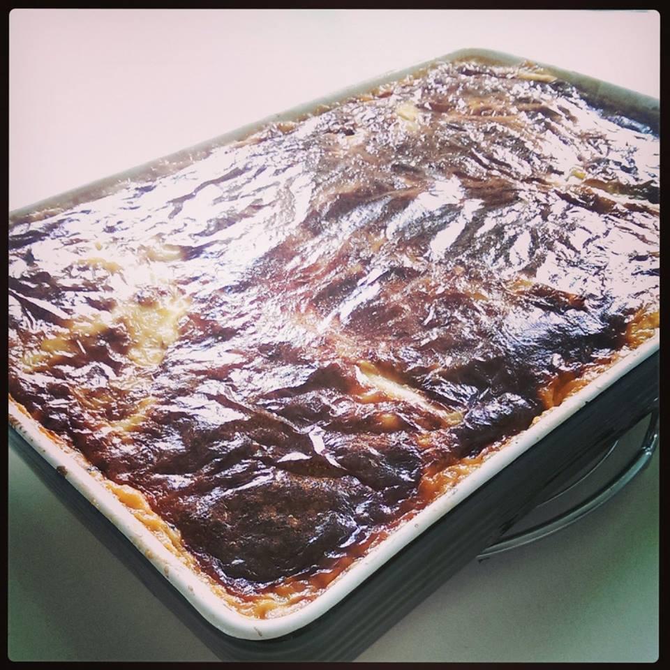Lækker smagfuld lasagne.