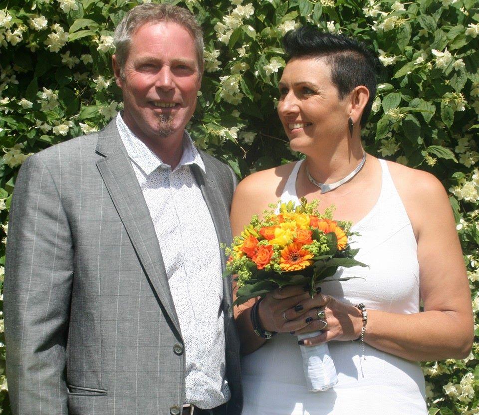 Så blev jeg gift med min udkårne :-)